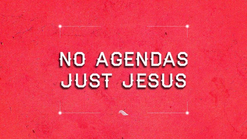 """No Agendas Just Jesus"" HOSPITALITY: THE GIFT THAT KEEPS ON GIVING"