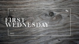 First Wednesday 02/03/16