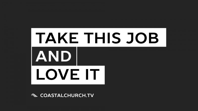 """Take This Job And Love It"" The God Sent Boss"