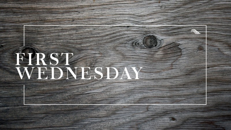 First Wednesday 01/04/17