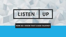 Listen Up | How To Be Lead By The Holy Spirit